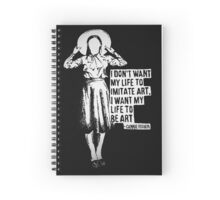 Carrie Fisher Spiral Notebook