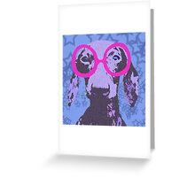 Nerdachshund Greeting Card