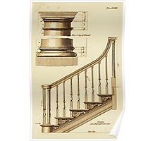 Staircase Schematics Poster