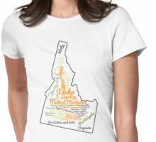 Idaho Legalize Medical Marijuana Cannabis Weed Womens Fitted T-Shirt