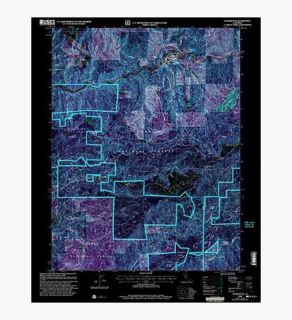 USGS TOPO Map California CA Washington 295648 2000 24000 geo Inverted Photographic Print
