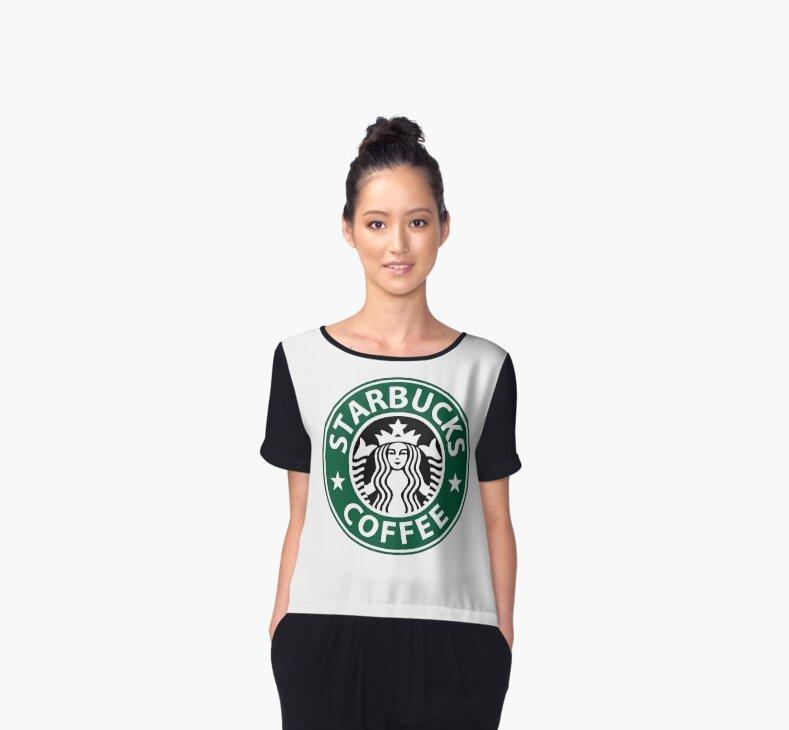 Starbucks Star Pugs Coffee T-Shirt