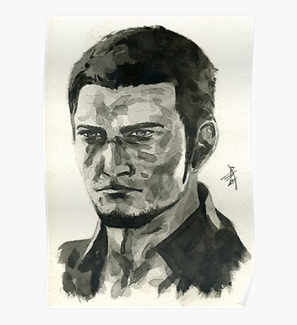 Cor Leonis from Final Fantasy XV Poster