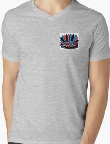 Tiki Mens V-Neck T-Shirt
