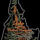Idaho Legalize Medical Marijuana Cannabis Weed by MarijuanaTshirt
