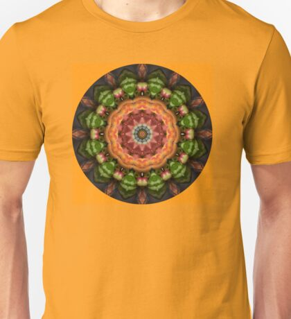 Peach Watermelon Mandala Unisex T-Shirt