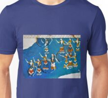 HERAKLION , CRETE LADIES WALL PAINTING Unisex T-Shirt