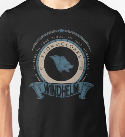 Stormcloaks - Windhelm Unisex T-Shirt