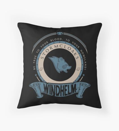 Stormcloaks - Windhelm Throw Pillow