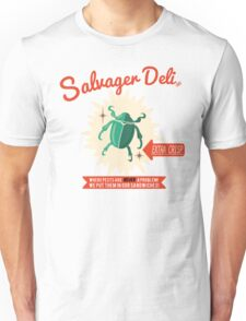 Salvager Deli - Extra Crispy Bug Sandwiches Unisex T-Shirt