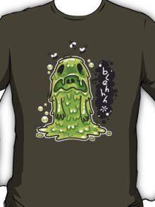 Cartoon Nausea Monster T-Shirt