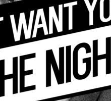 Lil Yachty- I Just Want You For the Night Lyrics Sticker
