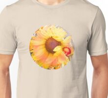 Blanket Flowers in the Wind - Floral Abstract Unisex T-Shirt
