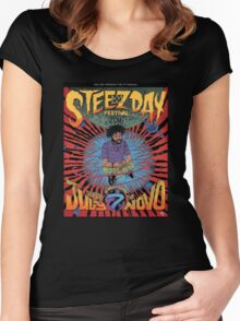 Steez Day #longlivesteelo Women's Fitted Scoop T-Shirt