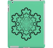 The Koch Snowflake iPad Case/Skin