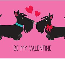 Be My Valentine – Scottie Lovers by BonniePortraits