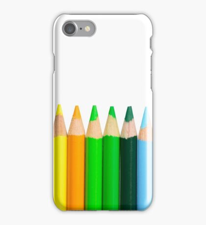 Coloured Pencils - New 2017 - High Quality Graphics iPhone Case/Skin