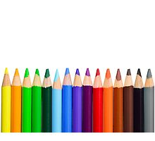 Coloured Pencils - New 2017 - High Quality Graphics Photographic Print