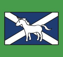 Unicorn, Scotland's National Animal Kids Clothes