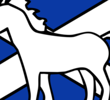 Unicorn, Scotland's National Animal Sticker