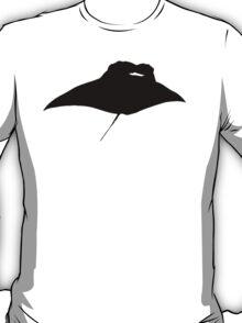 Manta Ray Silhouette T-Shirt