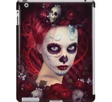 Dia De Muertos Red iPad Case/Skin