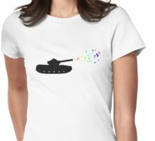 Peace Keeper Womens Fitted T-Shirt