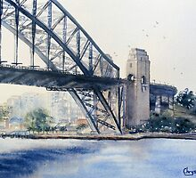 Sydney Harbour Bridge by Chrysovalantou