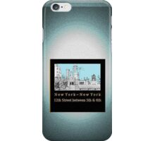Greenwich Village Roofscape  iPhone Case/Skin