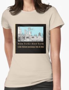 Greenwich Village Roofscape  T-Shirt