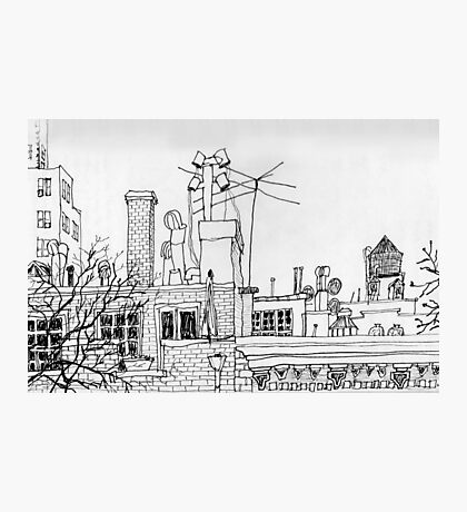 Greenwich Village Roofscape  Photographic Print