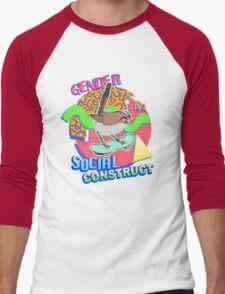 Rad Bird V2 (even radder) Men's Baseball ¾ T-Shirt
