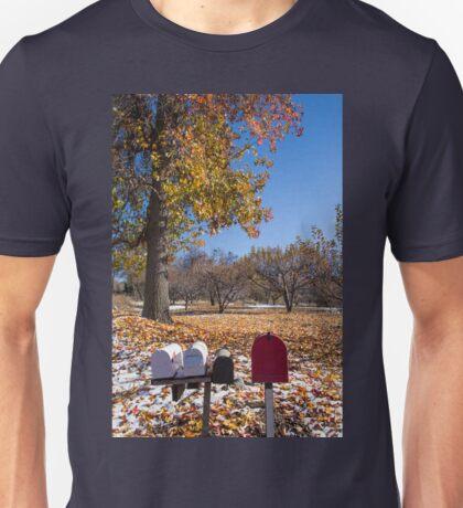 Along The Rural Road Unisex T-Shirt