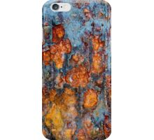 Metal rust background iPhone Case/Skin