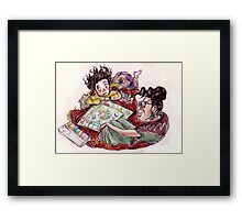 Monopoly, Mum and Me Framed Print