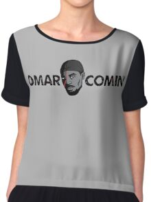 Omar Comin' Chiffon Top