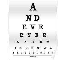 Jeff Buckley - Hallelujah Poster