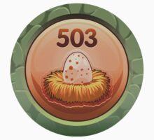 Glitch Achievement egg poacher One Piece - Short Sleeve