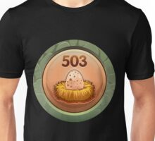 Glitch Achievement egg poacher Unisex T-Shirt