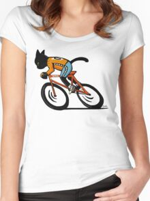 Cycle sport Women's Fitted Scoop T-Shirt