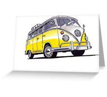 Volkswagen T1 Greeting Card