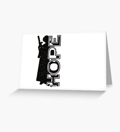 Leia and her Hope Greeting Card