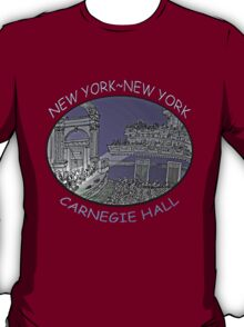 NYC-Carnegie Hall T-Shirt
