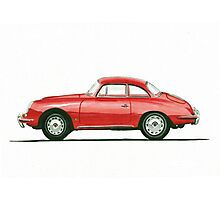 Porsche 356 B Karmann Hardtop Coupe Photographic Print