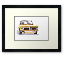 BMW 2002 Tii Framed Print