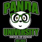 Panda University - Green 2 by Adamzworld