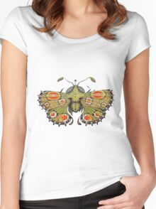Moth Women's Fitted Scoop T-Shirt