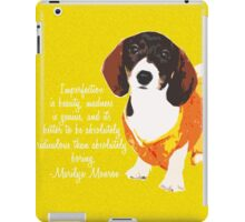 Imperfection is Beauty iPad Case/Skin