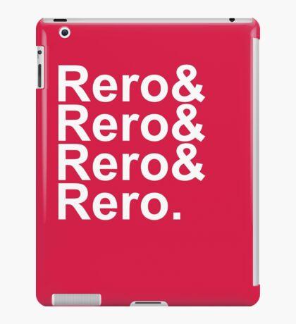 Rero& Helvetica iPad Case/Skin