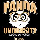 Panda University - Yellow 2 by Adamzworld
